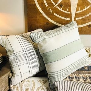 Hearth & Hand set of two throw pillows